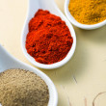 Various spicy powder — Stock Photo