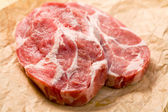 Raw juicy meat — Stock Photo