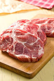 Raw juicy meat — Stock Photo