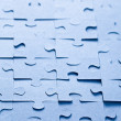Stock Photo: Jigsaw puzzle background