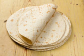 Flour tortillas — Stock Photo