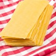 Stock Photo: Lasagne sheets