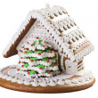 Christmas gingerbread house — Stock Photo #7207336