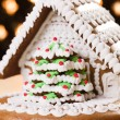 Christmas gingerbread house — Stock Photo #7207344
