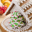 Christmas gingerbread house — Stock Photo #7207392