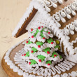 Christmas gingerbread house — Stock Photo #7207550