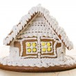 Christmas gingerbread house — Stock Photo #7207558