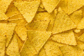The nachos chips background — Stock Photo