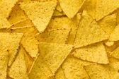 The nachos chips background — Stock Photo