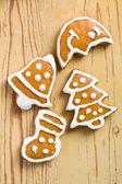 Noel gingerbreads — Stok fotoğraf