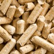 Wooden pellet .ecological heating - Stockfoto