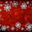 Snowflake border — Stock Photo #7616076