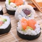 Sushi japan traditional food — Stock Photo