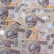 200 polish zloty — Stock Photo