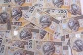 200 polish zloty — Stock Photo