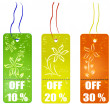 Shopping tags — Stock Photo