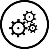 Gearswheel, — Stock Photo