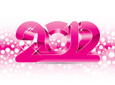 2012 New Year illustration — Stock Vector
