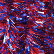 Abstract lights tinsel christmas background — Stock Photo #7252538