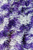 Abstract lights tinsel christmas background — Stock Photo