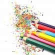 Set of colored pencils — Stock Photo #7955084