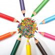 Set of colored pencils — Stock Photo #7955100
