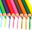 Set of colored pencils — Stock Photo #7955105