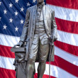 Stock Photo: Statue of George Washington.