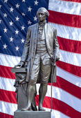 Statue of George Washington. — Stock Photo