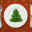 Christmas salad - Stock Photo