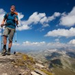Mountain hiker — Stock Photo