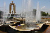Dushanbe, capital of Tajikistan — Stock Photo
