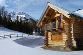 Log-cabin — Stock Photo