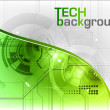 Tech background — Stock Vector #7238229