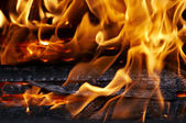Fire and flames — Stockfoto