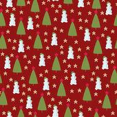 Bezešvá tapeta vánoční — Stock vektor