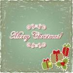 圣诞问候 — 图库矢量图片
