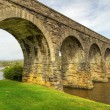 Stock Photo: Disused railway viaduct