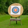 Archery shooting target — Stock Photo #6929759