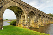 Disused railway viaduct — Stock Photo