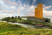 Kilcoe castle — Stock Photo