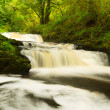 Beautiful cascades of Clare Glens - Stock Photo