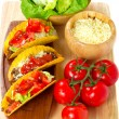 Mexican burrito — Stock Photo #7150112