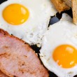 Irish breakfast - Stock Photo