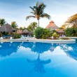 Tropical swimming pool — Stock Photo #7150730