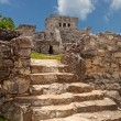 Stock Photo: Pyramid El Castillo in Tulum