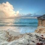 Amazing sunset at Caribbean Sea — Stock Photo #7151156