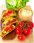 Mexican burrito — Stock Photo