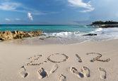 Año 2012 en el mar caribe — Foto de Stock
