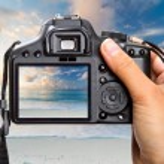 Shooting sunrise — Stock Photo